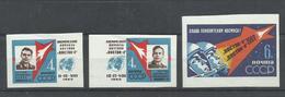 RUSIA YVERT 2550/52   (SIN DENTAR)     MNH  ** - 1923-1991 URSS