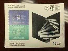 UAE 2019 Stamp Sharjah World Book Capital Expo SS MNH - United Arab Emirates (General)