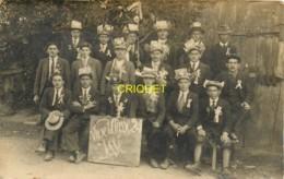 44 Issé, Carte Photo Des Conscrits De La Classe 1924, Beau Document - Autres Communes