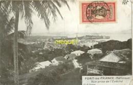 Martinique, Fort De France, Vue Prise De L'Evêché, Bel Affranchissement 1913, Carte Pas Très Courante - Fort De France