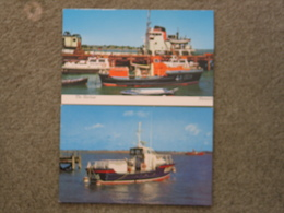 HARWICH LIFEBOAT MARGARET GRAHAM AND OTHER CARD - Ships