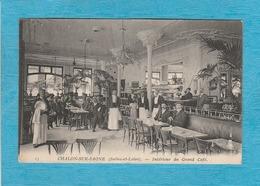Chalon-sur-Saône. - L'Intérieur Du Grand Café, Les Garçons Café. - Chalon Sur Saone