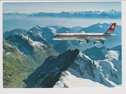 Vintage Rppc Swissair Douglas Dc-8 Aircraft - 1919-1938: Between Wars