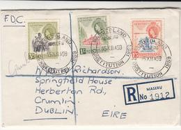 Basutoland / Ireland / Constitutions Democracy - Stamps