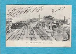 Chalon-sur-Saône. - Saint-Cosme, Les Gares. - Train. - Chalon Sur Saone
