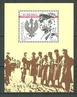 POLAND MNH ** Bloc 167 Anniversaire De La Bataille Miracle Sur La Vistule, Josef Pilsudski, Aigle - Blocks & Sheetlets & Panes