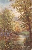 """G.H. Jenkins. A Sping Day. Davon Tuck Oilette Picturesque Devon Ser. PC # 7858 - Tuck, Raphael"