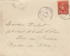 SEUL SUR LETTRE. N° 146 - Postmark Collection (Covers)