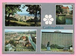 Postcard - Gottwaldov, 1985., Czechoslovakia - Other