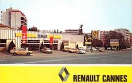 CANNES - Concessionnaire/Garage Renault, Pont Des Gabres (Angle Av. Maréchal-Juin Et Gal-Vautrin) - Renault 4L, R5, R16 - Cannes