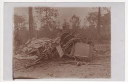 ° 55 ° WW1 ° ARGONNE ° Avion (s) Français Abattu Le 11 Octobre 1915 Près De La Position BOLANTE ° CARTE PHOTO ALLEMANDE - France