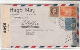 Cuba / Censorship / Airmail / U.S. / Sweden - Sin Clasificación