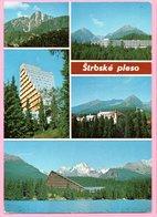 Postcard - High Tatras - Štrbske Pleso / Hotel Patria / Hotel Panorama, Czechoslovakia - Other