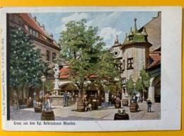 8569 - Gruss Auf Dem Kgl Hofbräuhause München - Muenchen
