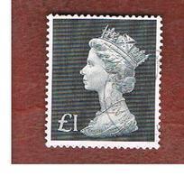 GRAN BRETAGNA (UNITED KINGDOM) -  SG 831b -  1972 QUEEN ELIZABEH II (LARGE MACHIN LGS 1)  - USED° - 1952-.... (Elisabetta II)