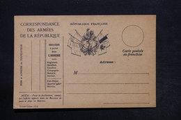 FRANCE - Carte FM Non Circulé - L 28174 - Marcophilie (Lettres)