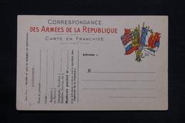 FRANCE - Carte FM Non Circulé - L 28175 - Marcophilie (Lettres)