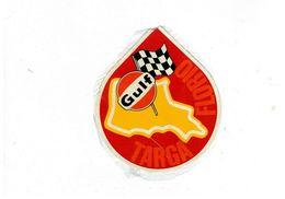ADESIVO STICKER GULF TARGA FLORIO USATO MANCANZA DI COLLA - Stickers
