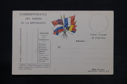FRANCE - Carte FM Non Circulé - L 28176 - Marcophilie (Lettres)
