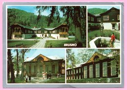 Postcard - Kupele Brusno, 1983., Czechoslovakia - Other
