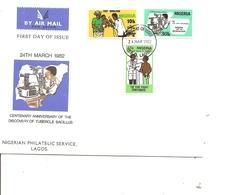Nigéria - Tuberculose ( FDC De 1982 à Voir) - Nigeria (1961-...)