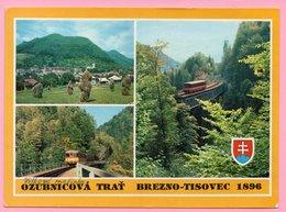 Postcard - Brezno - Tisovec, Czechoslovakia - Other