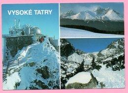 Postcard - Vysoke Tatry - The High Tatras, 1993., Czechoslovakia - Other