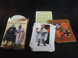 Jeu De 54 Cartes à Jouer - CHEVALERIE - CHEVALIERS - 54 Cartes