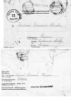 "CP- "" Correspondance De Prisonnier De Guerre ""-  Stalag  VI A -( HEMER )- - Poststempel (Briefe)"