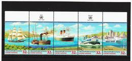SRO165 UNO NEW YORK 1997 MICHL 741/45 Postfrisch Siehe ABBILDUNG - New York -  VN Hauptquartier