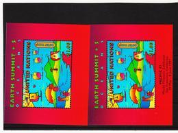 SRO174 UNO NEW YORK 1997 MICHL BLOCK 14 + 14 I Postfrisch Siehe ABBILDUNG - New York -  VN Hauptquartier