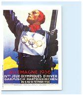 Jeux Olympiques D'Hiver - Allemagne 1936 - Garmisch-b Partenkirchen -Publicité Mars - Olympic Games