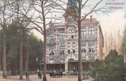 184642Ginneken, Hotel Mastbosch (minuscule Vouwen In De Hoeken) - Netherlands