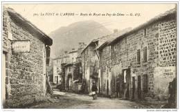63 - LA FONT DE L'ARBRE / ROUTE DE ROYAT AU PUY DE DOME - Royat