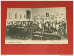 BRUXELLES -  Collège Saint-Michel  - Une Classe (3ème Latine)  - - Enseignement, Ecoles Et Universités