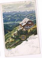 544 Reschreiter Gruttenhütte Wilder Kaiser Künstlerkarte - Other Illustrators