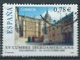 ESPAGNE SPANIEN SPAIN ESPAÑA 2005 IBEROAMERICAN SUMMIT SALAMANCA  UNIVERSITY USED ED 4188 YT 3780 MI 4075 SG 4135 SC 33 - 1931-Hoy: 2ª República - ... Juan Carlos I