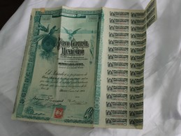 Banco Central Maxicano 1908 - Autres