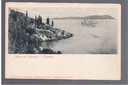 CROATIA Hafen Von Cannosa- Trsteno Port, Dubrovnik Ca 1900  OLD POSTCARD - Croatia