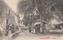 CPA - Rennes Les Bains - La Place - Autres Communes