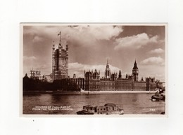 Houses Of Parlement From The Thames London - River Thames
