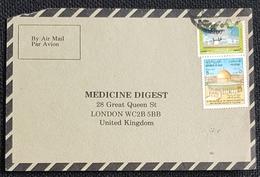 1984, IRAQ, Medicine Digest, Carte Response, Baghdad - London - Iraq