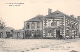 """¤¤   -   LA GUERCHE-de-BRETAGNE   -   Hôtel Des Voyageurs """" A. Pelletier - David """"   -  ¤¤ - La Guerche-de-Bretagne"""