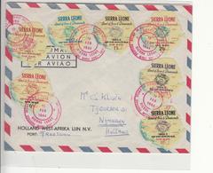 Sierra Leone / Airmail / Self Adhesive Stamps / Airmail - Sierra Leone (1961-...)