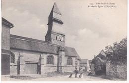 27 Eure -  GARENNES -  Devant La Vieille Eglise XVIe Siècle - France