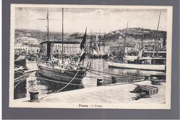 CROATIA Fiume/ Rijeka- Il Porto Ca 1920  OLD POSTCARD - Croatie