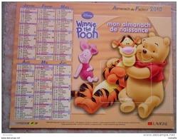 Mon Almanach De Naissance 2010 -collector - Disney Winnie The Pooh-- Tigrou, Bourriquet ... Voir Les Photos Des 2 Cotés - Tamaño Grande : 2001-...