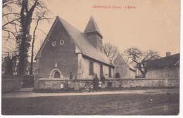 27 Eure -  GRAINVILLE - Devant L'Eglise - France