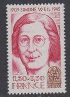 France 1979 Simonne Weil 1v ** Mnh (42581) - Ongebruikt