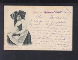 CP Gruss Aus Elsass 1897 - Alsace